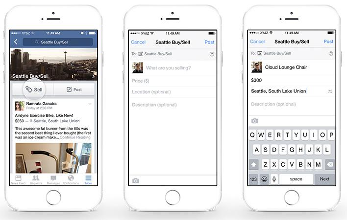 Screenshots van de iOS-versie