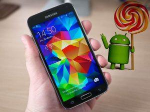 Galaxy S5 op stil