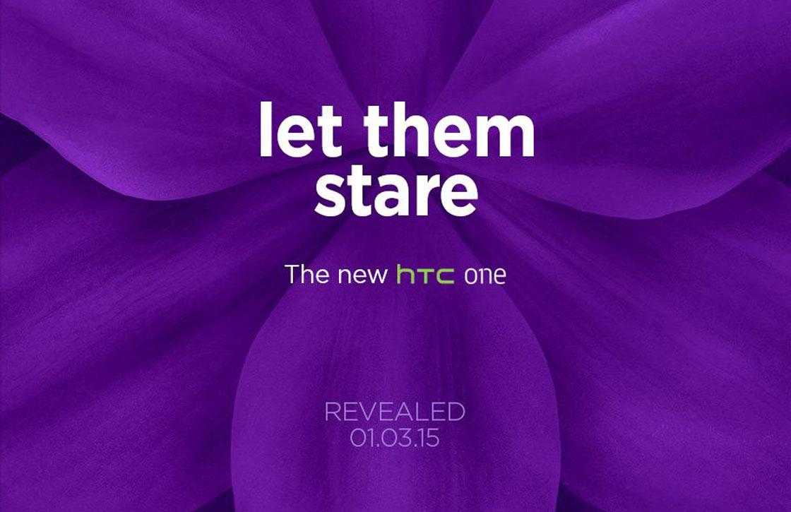 Nu officieel: HTC onthult nieuw vlaggenschip op 1 maart