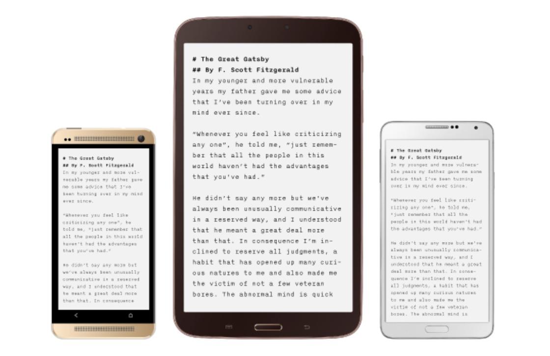 Fraaie schrijf-app iA Writer ook voor Android uitgebracht