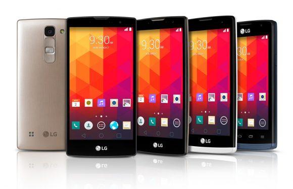 Dit zijn de 4 nieuwe midrange smartphones van LG