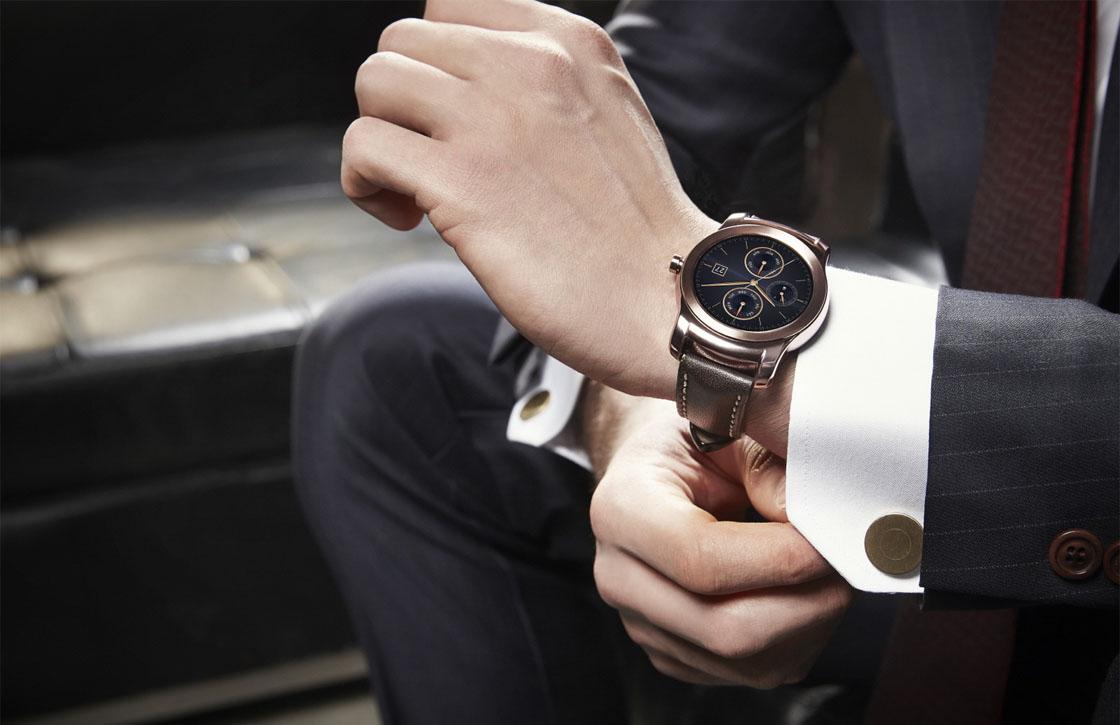 Luxesmartwatch LG Watch Urbane verschijnt ook in 4G-versie
