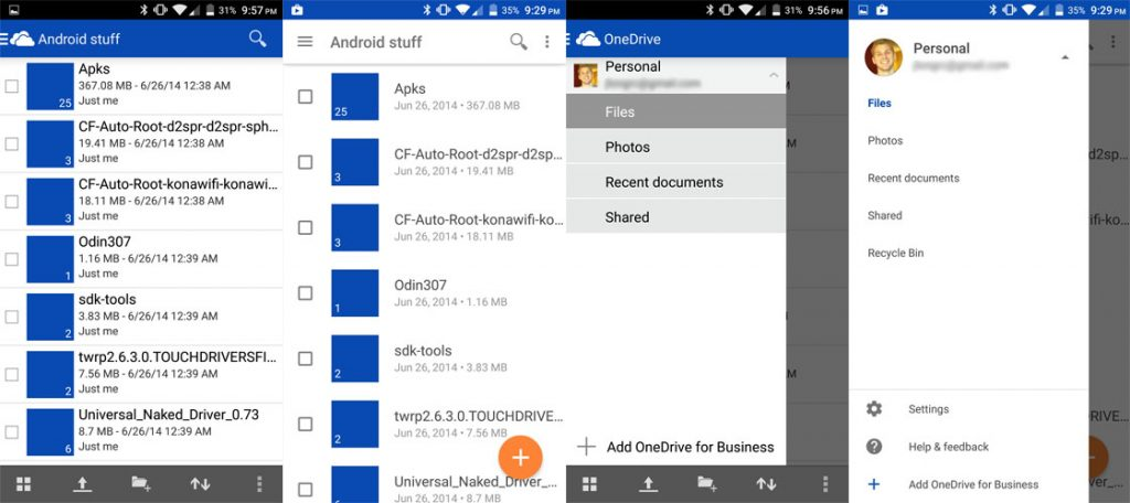 microsoft onedrive-app