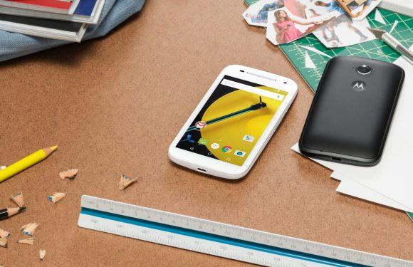 Goedkope Moto E met 4G en Android Lollipop nu verkrijgbaar
