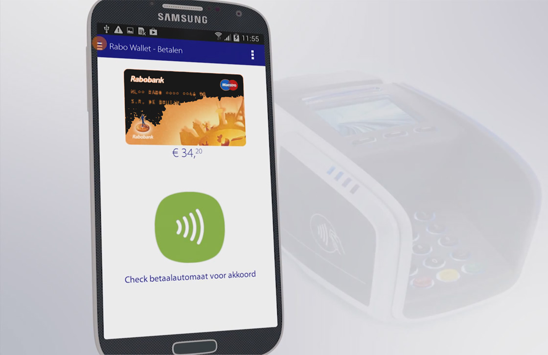 Vernieuwde Rabo Wallet-app laat je overal met je smartphone betalen