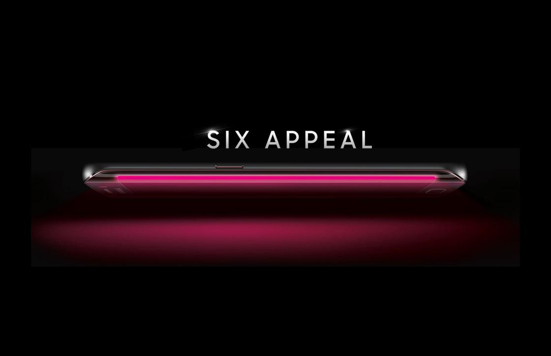 T-Mobile publiceert officiële foto Galaxy S6 met gebogen scherm