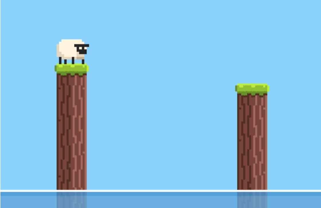 Sheepop is de meest verslavende game na Flappy Bird