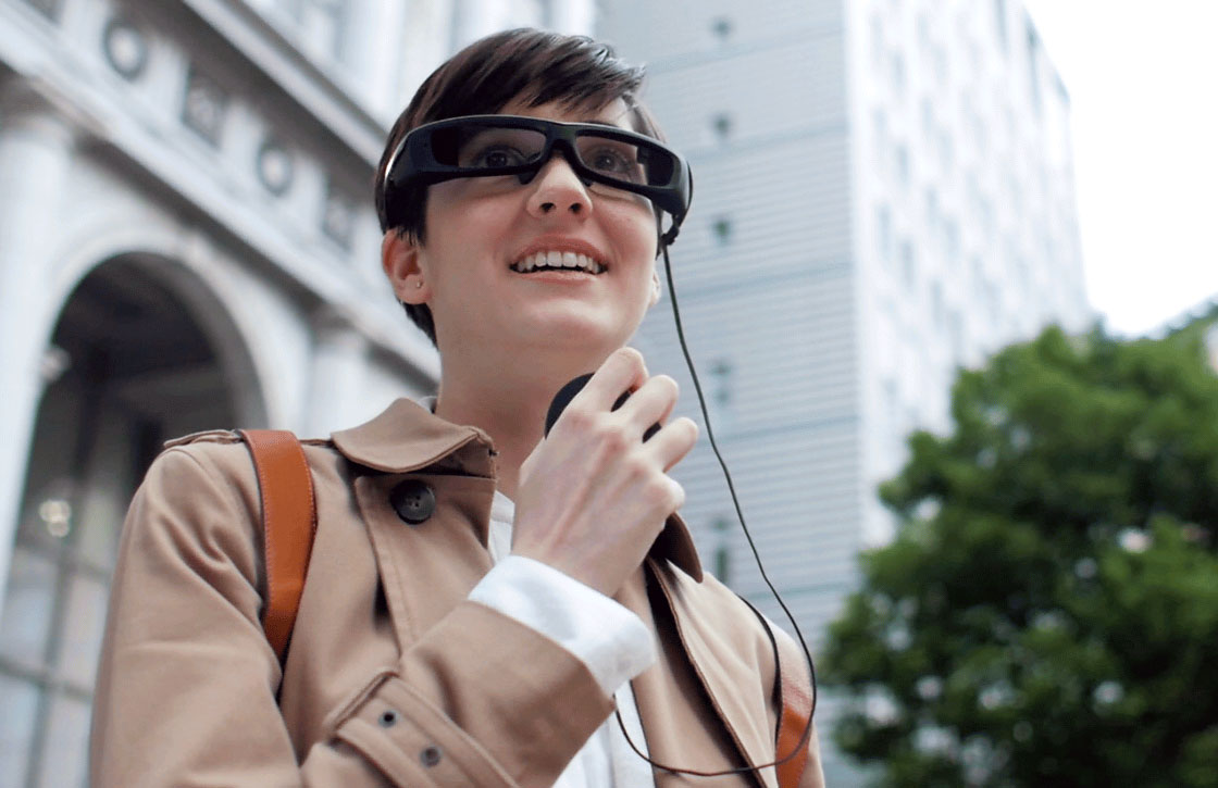 Video: dit is Sony's antwoord op Google Glass