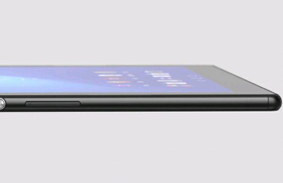 Sony onthult per abuis Xperia Z4 Tablet met 2K-scherm