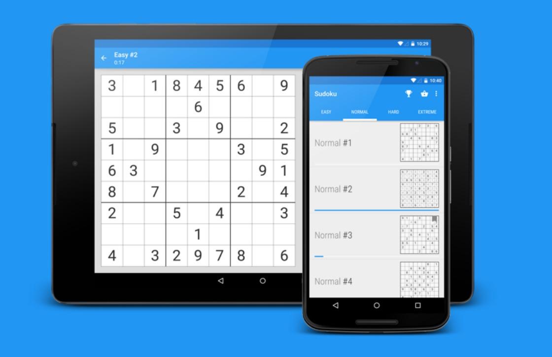 Material Design-game laat je sudokupuzzels in stijl oplossen