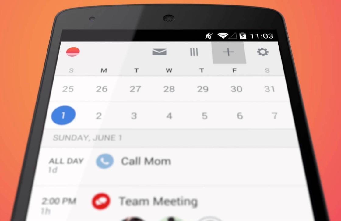 Microsoft neemt populaire agenda-app Sunrise officieel over