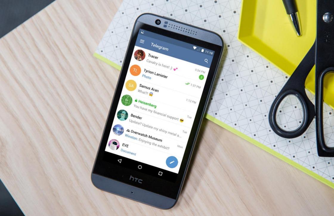 Telegram laat je nu bestanden delen tot 1,5GB
