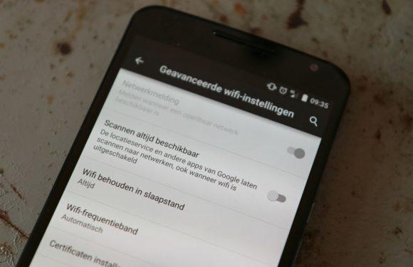 Zo laat je je Android sneller overschakelen van wifi naar 3G/4G