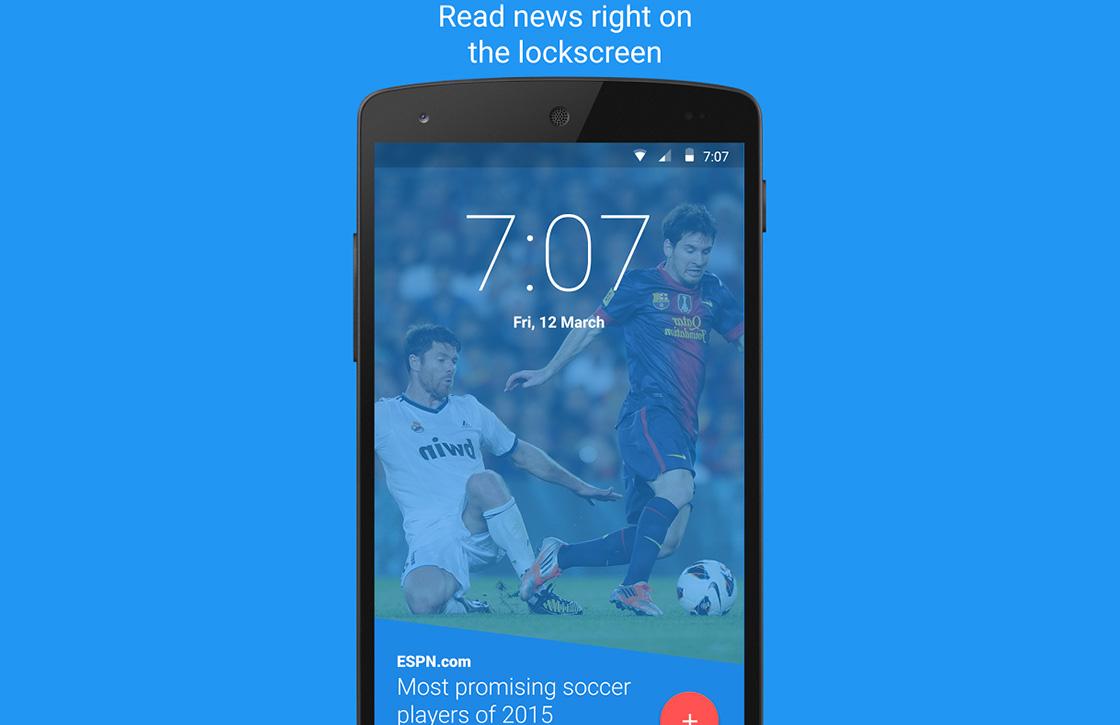 Deze app toont al je rss-feeds op het vergrendelscherm van je Android
