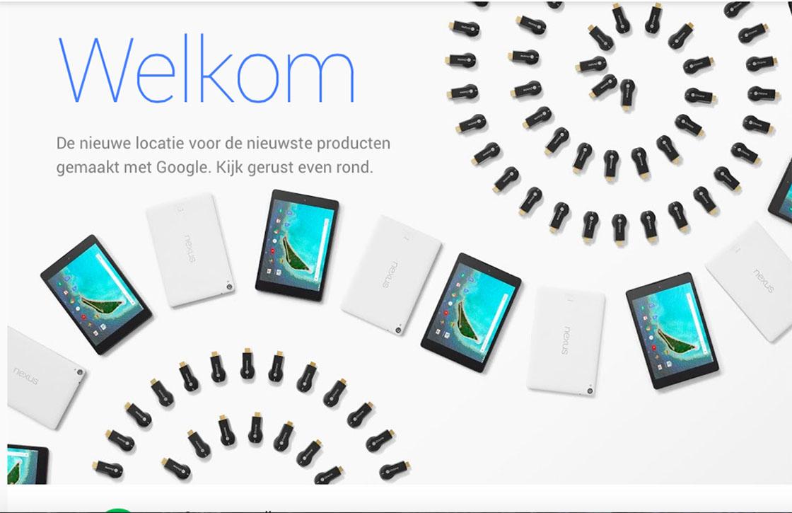Google lanceert nieuwe webwinkel en kondigt Chromebook Pixel 2 aan