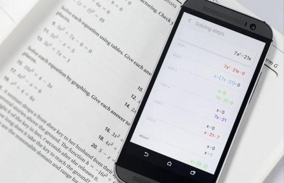 PhotoMath: handige reken-app ook voor Android uitgebracht