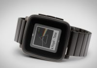 Pebble komt met metalen variant van Time-smartwatch