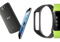 Acer kondigt nieuwe smartphones en goedkope fitnesstracker aan