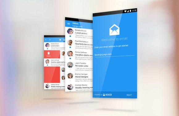CyanogenMod 12 krijgt Boxer als standaard mail-app