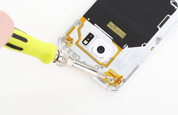 Foto's: zo ziet de binnenkant van de Samsung Galaxy S6 eruit