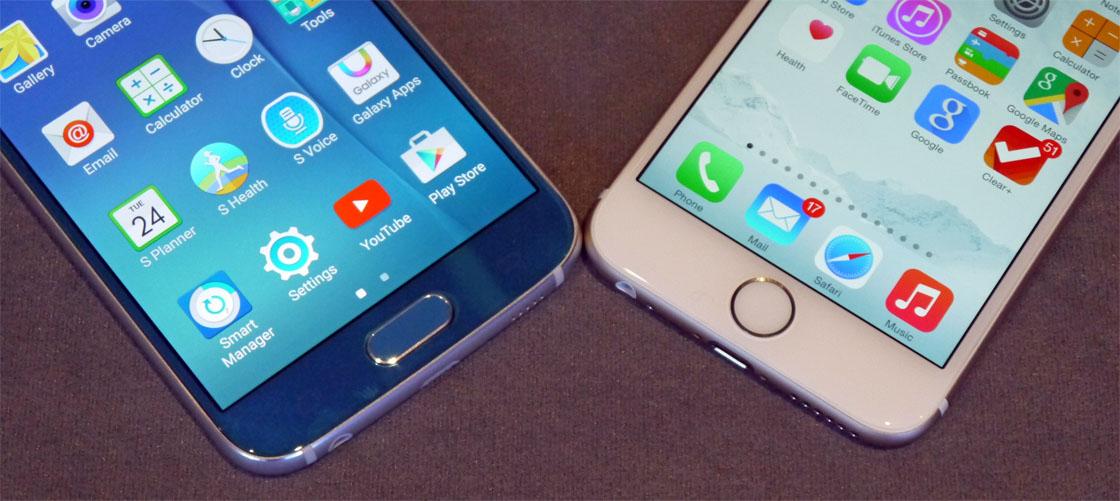 contacten versturen van iphone naar samsung s6