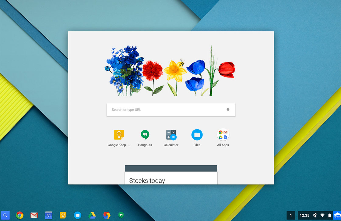 Bètaversie Chrome OS krijgt virtuele assistent Google Now