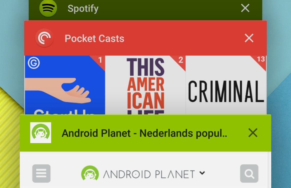 Waarom je niet constant apps uit het multitaskvenster moet swipen