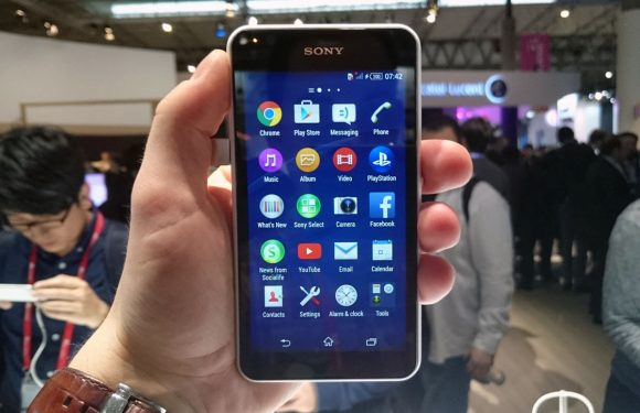 Sony Xperia E4g hands-on: stevige budgettelefoon met 4G