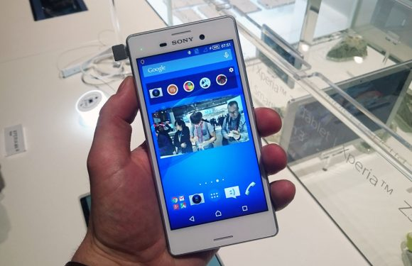 Sony Xperia M4 Aqua en Z4 Tablet hands-on: dun en waterbestendig