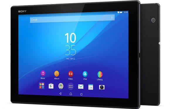 Sony onthult nieuwe, dunnere Xperia Z4 Tablet met 2K-scherm
