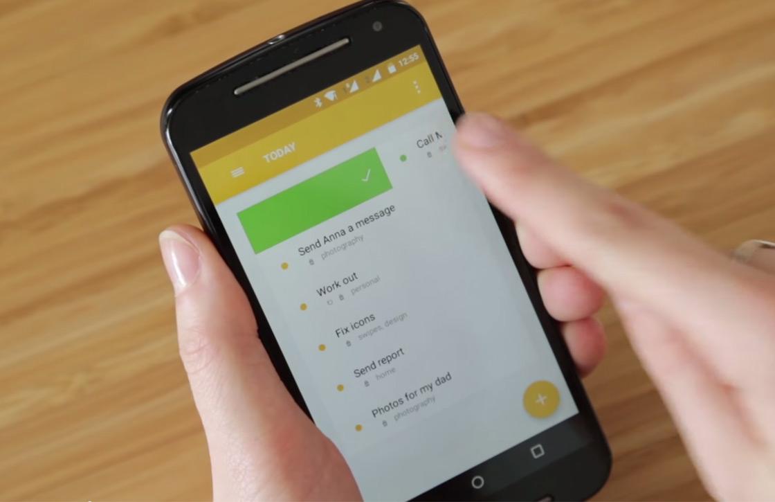 Swipes: fraaie todo-app met Material Design en Evernote-integratie
