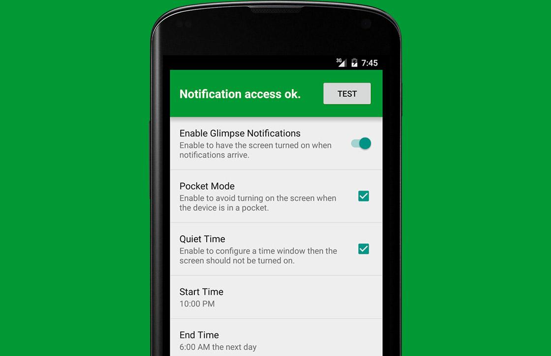 Deze app licht het scherm van je Android op bij specifieke applicaties