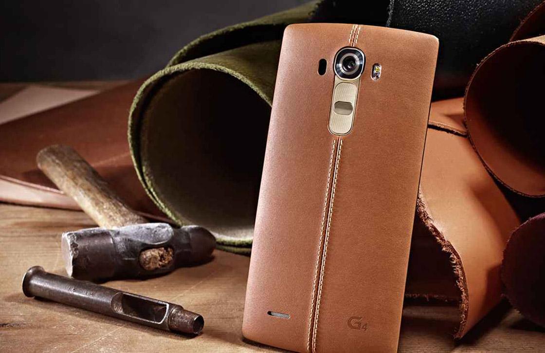 Dit moet je weten over de duurdere LG G4 met lederen achterkant