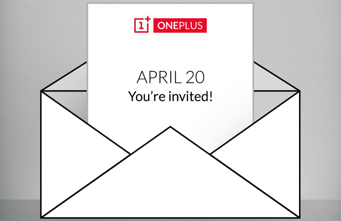 OnePlus kondigt speciaal evenement aan voor 20 april
