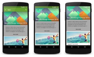 Google Play immersive modus