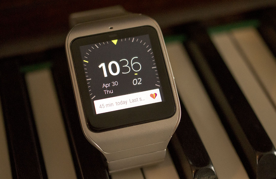 Sony SmartWatch 3 Review: leuke gadget met beperkingen