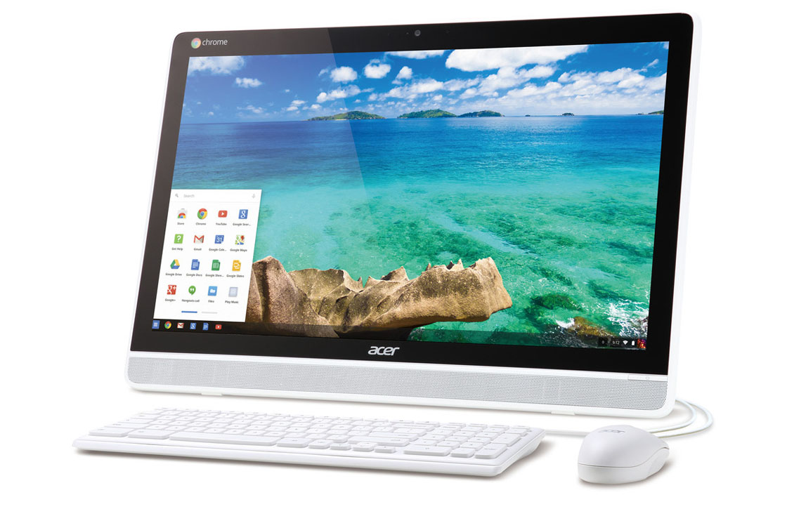 Acer Chromebase: all-in-one desktopcomputer met Chrome OS
