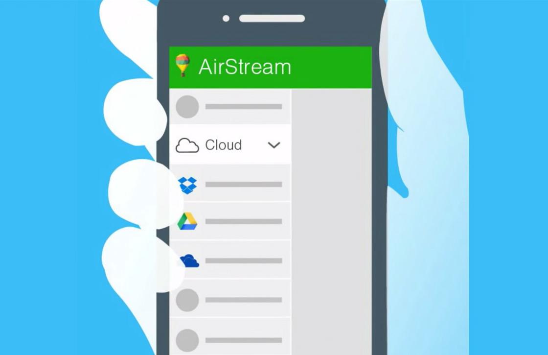 Stream films van pc, Dropbox of Drive naar je Android met Airstream
