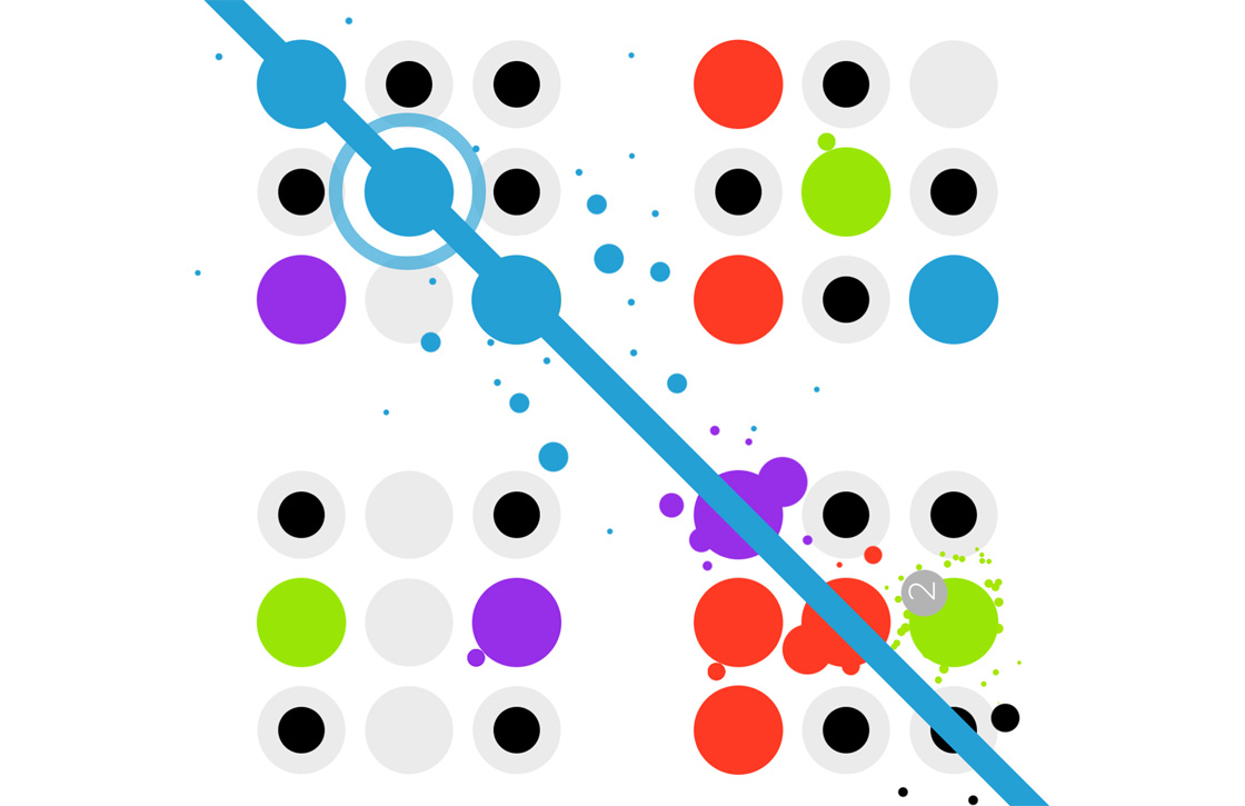 Dotello: geinige puzzelgame aapt Two Dots na