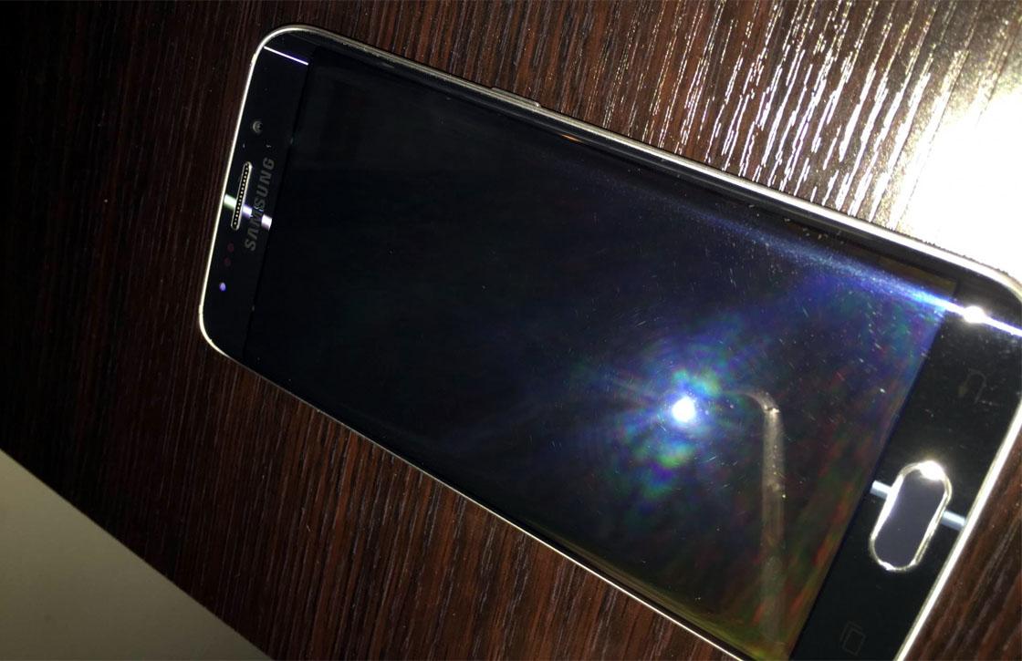 Gebruikers Samsung Galaxy S6 Edge klagen over schermproblemen