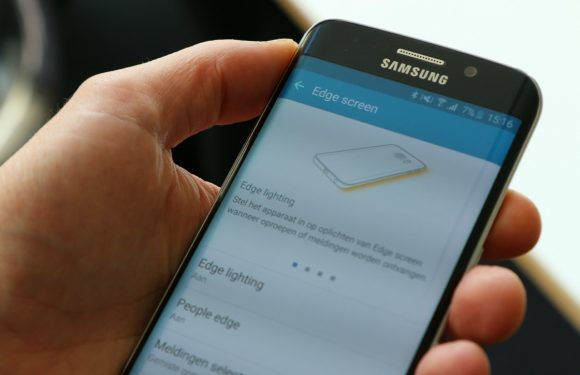 Dit kun je allemaal met het gebogen scherm van de Galaxy S6 Edge