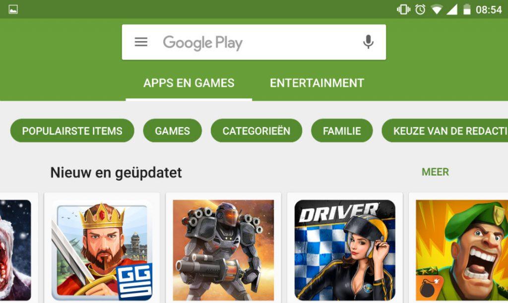 google play sneller