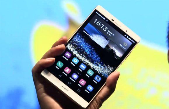 Huawei P8 Max aangekondigd: groot toestel met 6,8 inch-scherm