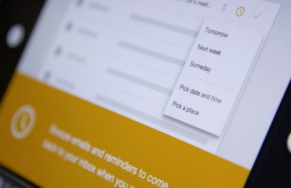 Inbox by Gmail stukje slimmer met nieuwe snooze-opties