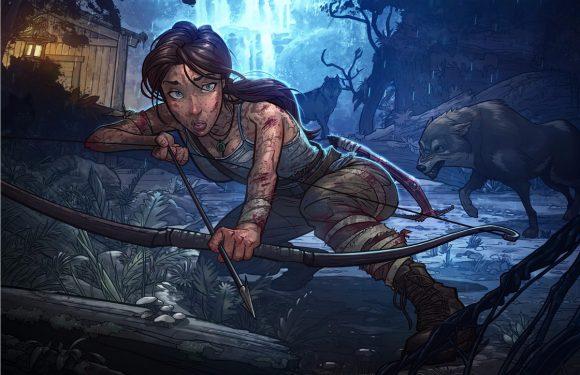 Ontwijk obstakels en versla T-Rex'en in nieuwe ren-game Tomb Raider