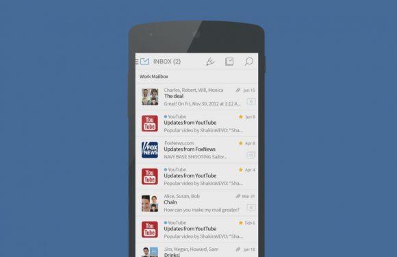 Mailwise is een aantrekkelijke, uitgebreide en simpele e-mail-app