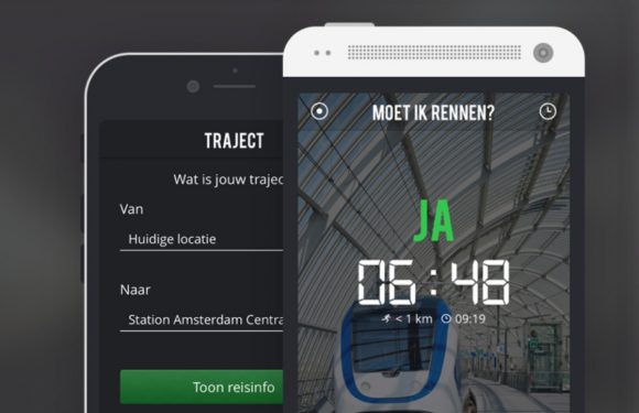 Deze app laat zien of je moet rennen om de trein te halen