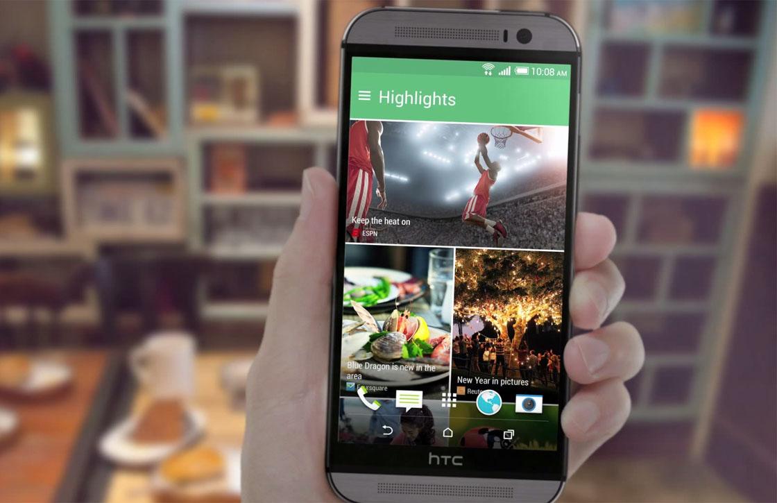 HTC geeft BlinkFeed nieuwe naam en integreert functies