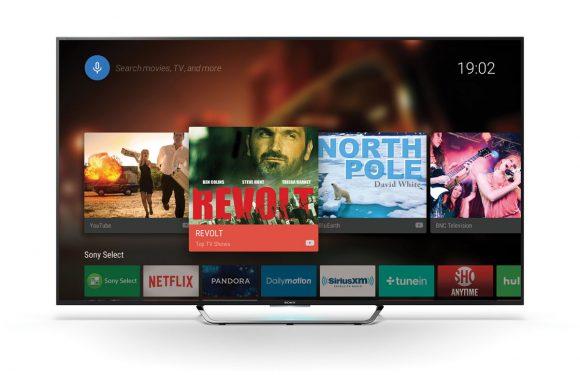 Prijzen nieuwe Android TVs van Sony bekendgemaakt