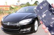 Video: Samsung Galaxy S6 overreden door Tesla Model S